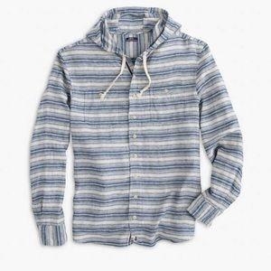 JOHNNIE-O | Franky Hoodie Woven Shirt NWT